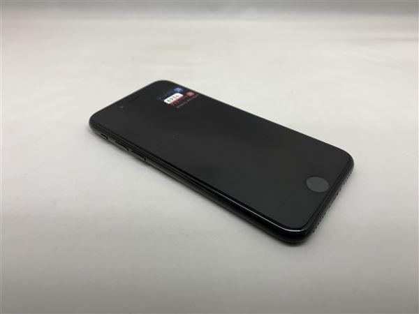 【中古】【安心保証】 SoftBank iPhone7[32G] ジェットブラック