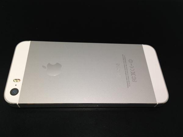 【中古】【安心保証】 au iPhone5s[16G] シルバー