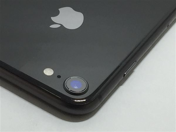 【中古】【安心保証】 SoftBank iPhone8[256G] スペースグレイ