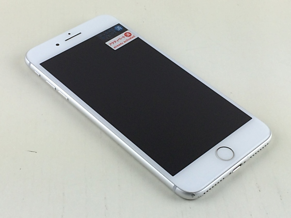【中古】【安心保証】 au iPhone8Plus[256G] シルバー