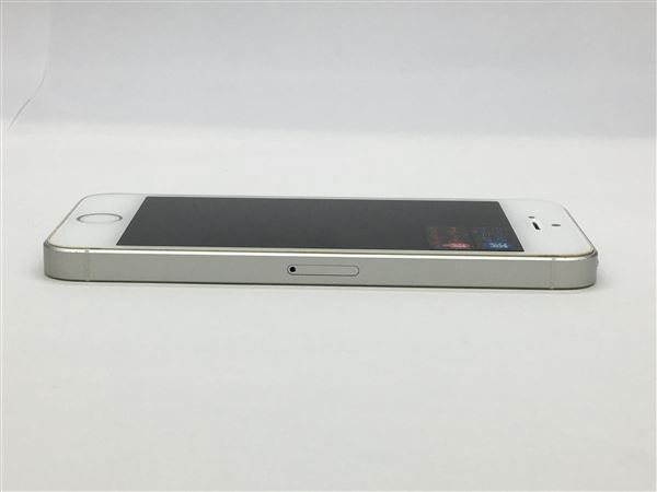 【中古】【安心保証】 SoftBank iPhoneSE[64G] シルバー