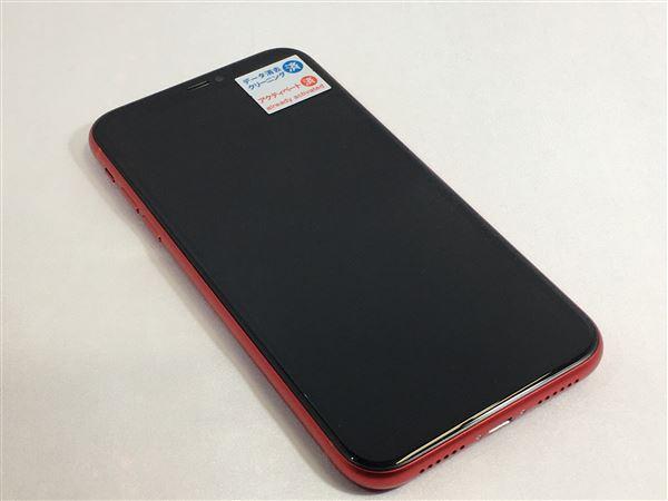 【中古】【安心保証】 docomo iPhone11[128G] レッド