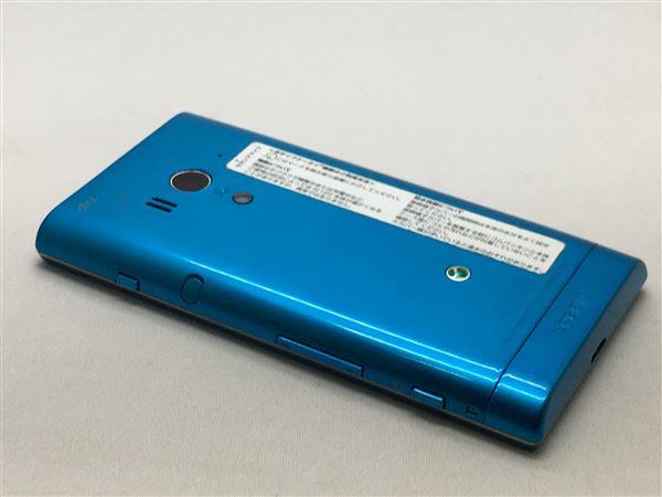 【中古】【安心保証】 au SOI12[IS12S] ブルー