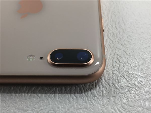 【中古】【安心保証】 docomo iPhone8Plus[256G] ゴールド SIMロック解除済