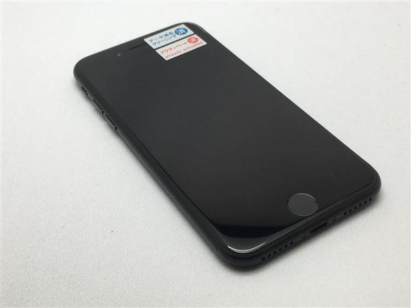 【中古】【安心保証】 docomo iPhone7 32GB ブラック SIMロック解除済
