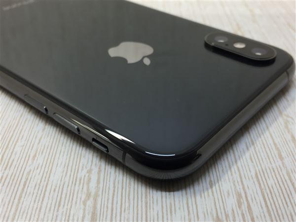 【中古】【安心保証】 SoftBank iPhoneXS[256G] スペースグレイ