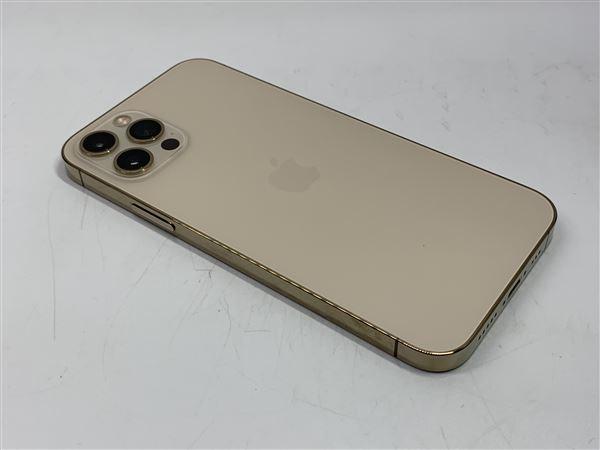 【中古】【安心保証】 au iPhone12Pro[512G] ゴールド