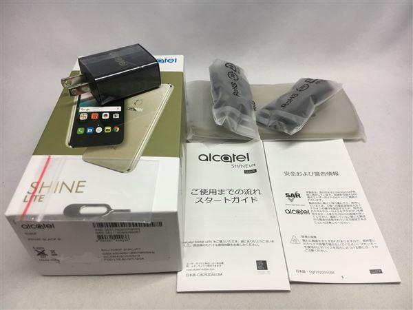 【中古】【安心保証】 SIMフリー ALCATEL SHINE LITE 16GBプライム・