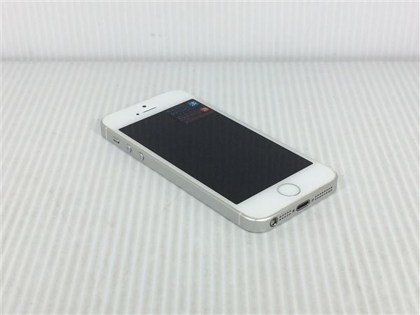 【中古】【安心保証】 SoftBank iPhoneSE[64G] シルバー