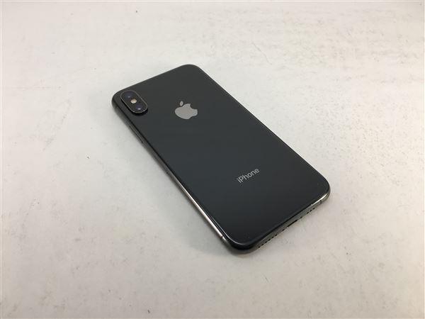 【中古】【安心保証】 SoftBank iPhoneXS[64G] スペースグレイ