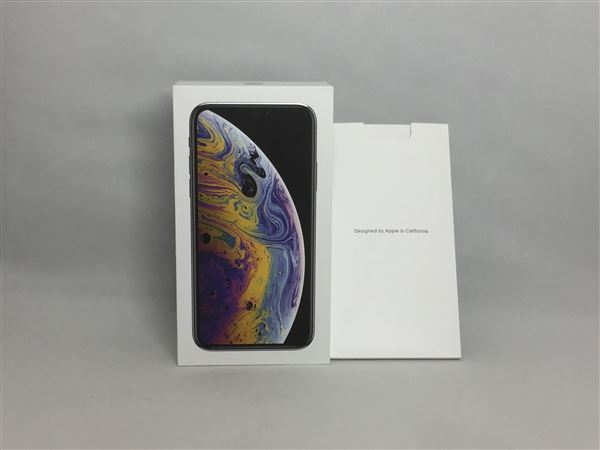 【中古】【安心保証】 SoftBank iPhoneXS[256G] シルバー