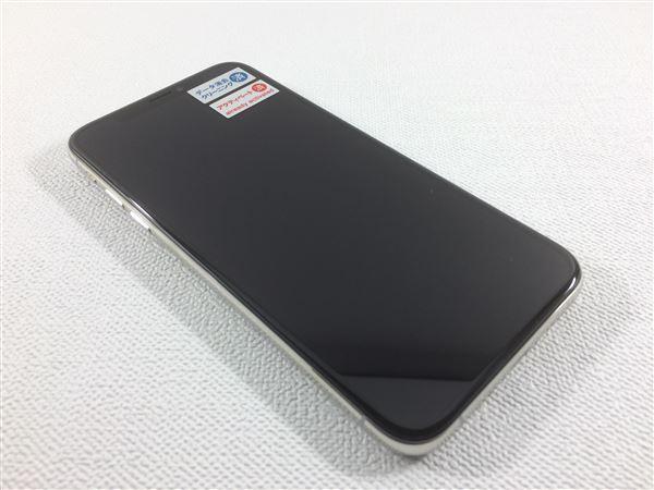 【中古】【安心保証】 SoftBank iPhoneXS[256G] シルバー