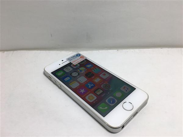 【中古】【安心保証】 docomo iPhoneSE[64G] シルバー