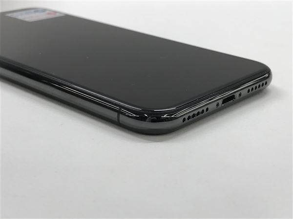 【中古】【安心保証】 SoftBank iPhoneX[64GB] スペースグレー