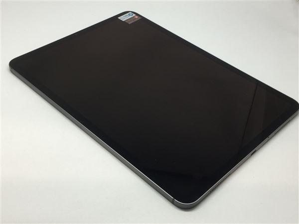 【中古】【安心保証】 SoftBank 11iPadPro_1[セルラー256G] グレイ