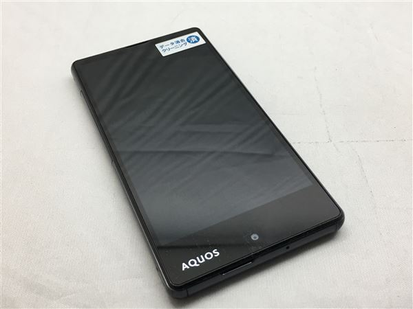 【中古】【安心保証】 SoftBank AQUOS Xx2 mini 503SH ブラック