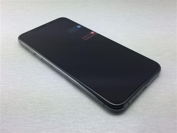 【中古】【安心保証】 au iPhone11 Pro Max[512G] グレイ