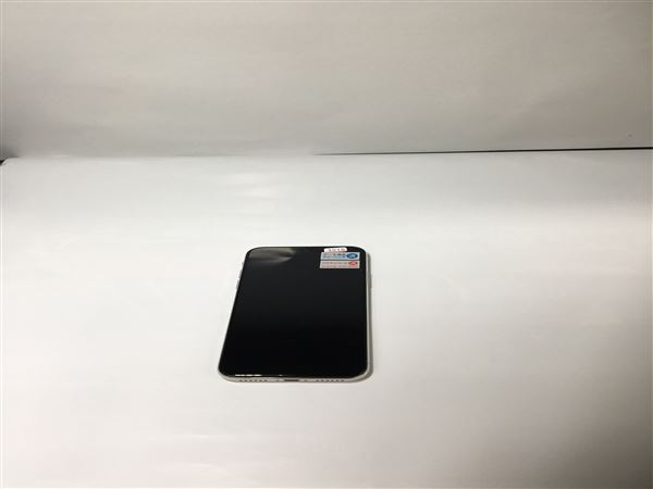 【中古】【安心保証】 SoftBank iPhoneX[256GB] シルバー
