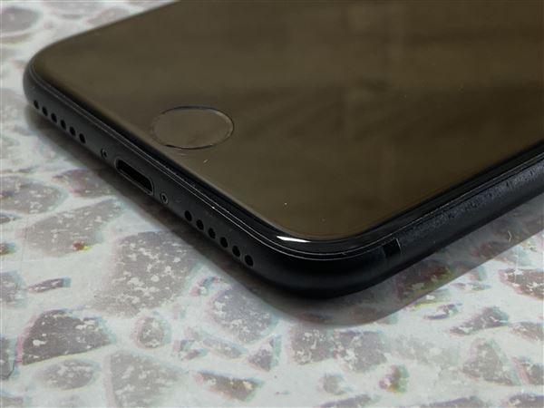 【中古】【安心保証】 SoftBank iPhone7[128G] ブラック