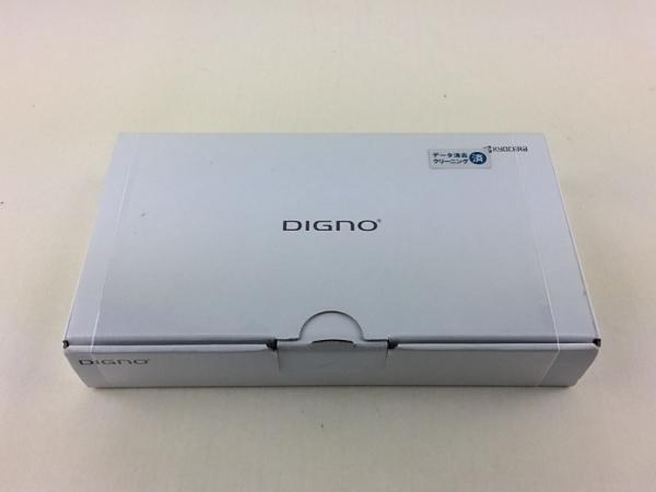 【中古】【安心保証】 SoftBank DIGNO U 404KC マットブラック