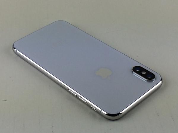 【中古】【安心保証】 SIMフリー iPhoneX[64G] シルバー
