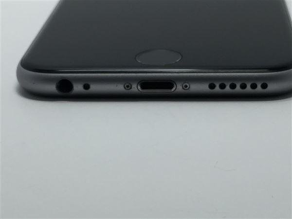 【中古】【安心保証】 au iPhone6s[64G] スペースグレイ