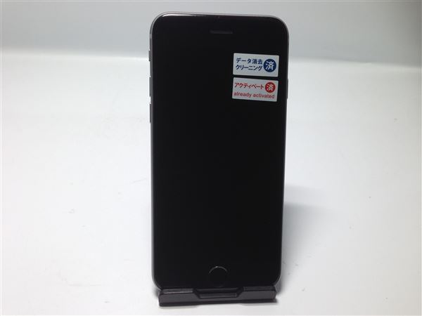 【中古】【安心保証】 au iPhone6s[16G] スペースグレイ