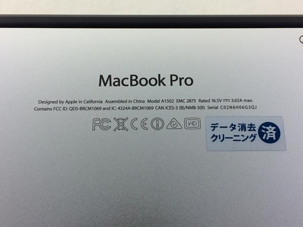 【中古】【安心保証】 アップル ノートPC MGX82J/A