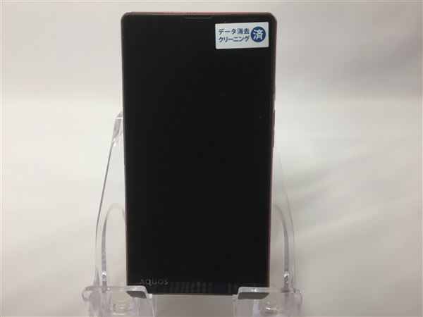 【中古】【安心保証】 SoftBank AQUOS Xx2 mini 503SH レッド