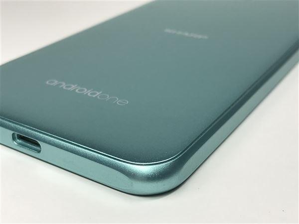 【中古】【安心保証】 Y!mobile Android One S1 ターコイズ