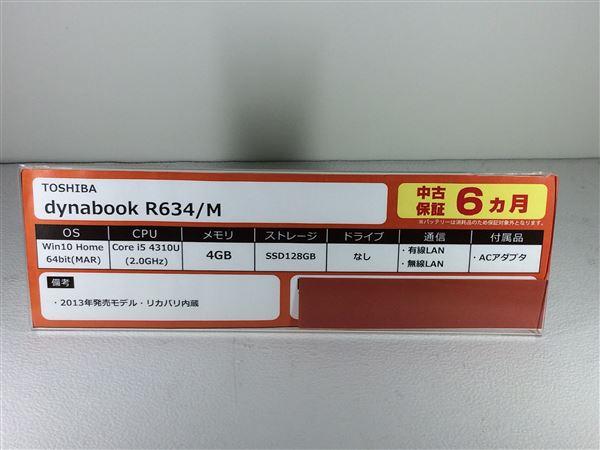 【中古】【安心保証】 TOSHIBA ノートPC PR634MAX647AD71