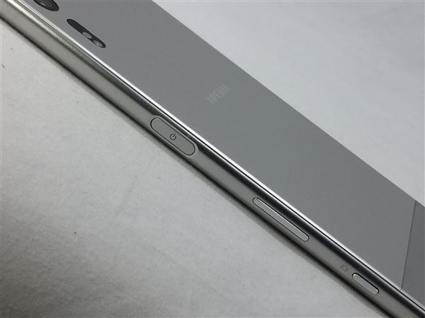 【中古】【安心保証】 SoftBank XperiaXZ 601SO プラチナ