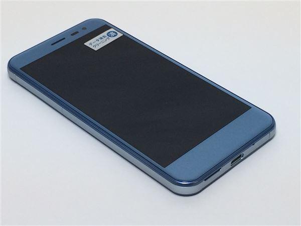 【中古】【安心保証】 Y!mobile Android One 507SH スモーキーブルー