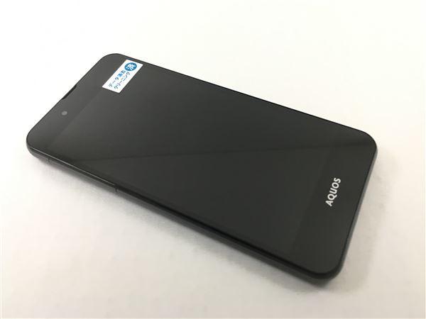 【中古】【安心保証】 UQモバイル SHーL02 ブラック