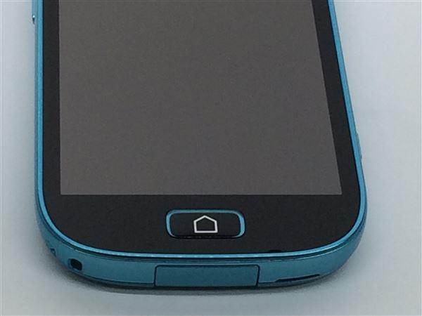 【中古】【安心保証】 docomo Fー03K ブルー