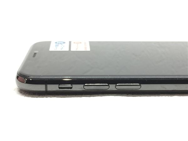 【中古】【安心保証】 docomo iPhoneX[64G] スペースグレイ SIMロック解除済