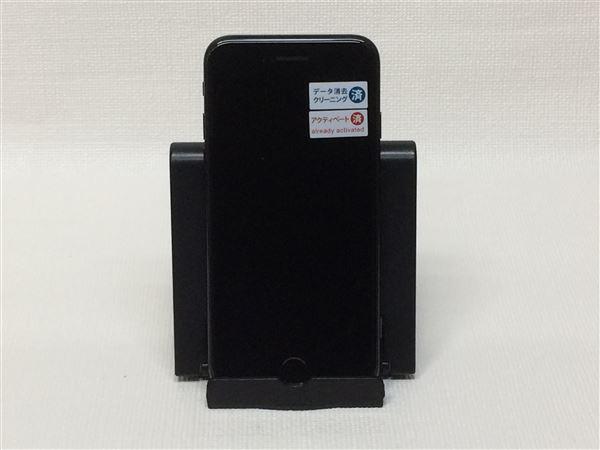 【中古】【安心保証】 au iPhone7[256G] ジェットブラック
