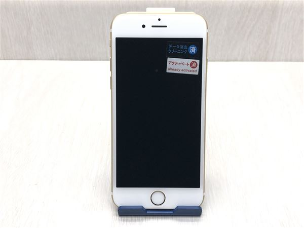 【中古】【安心保証】 SoftBank iPhone6s[32G] ゴールド