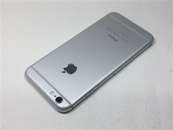 【中古】【安心保証】 SoftBank iPhone6[16G] シルバー