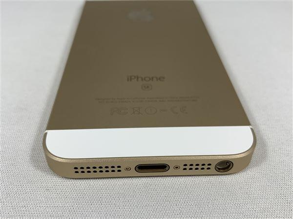 【中古】【安心保証】 docomo iPhoneSE[16G] ゴールド