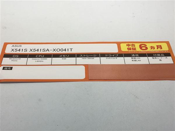 【中古】【安心保証】 ノートPC>X541SA-XO041T