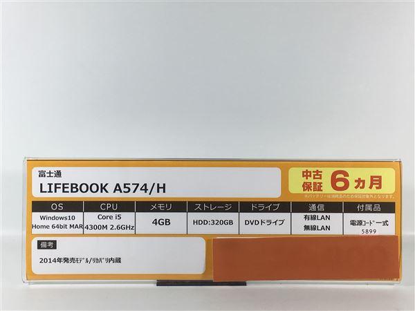 【中古】【安心保証】 富士通 ノートPC FMVA05003