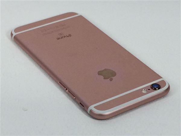 【中古】【安心保証】 SIMフリー iPhone6s[32G] ローズゴールド
