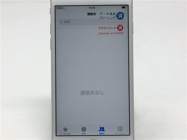 【中古】【安心保証】 SIMフリー iPhone6s[128G] シルバー