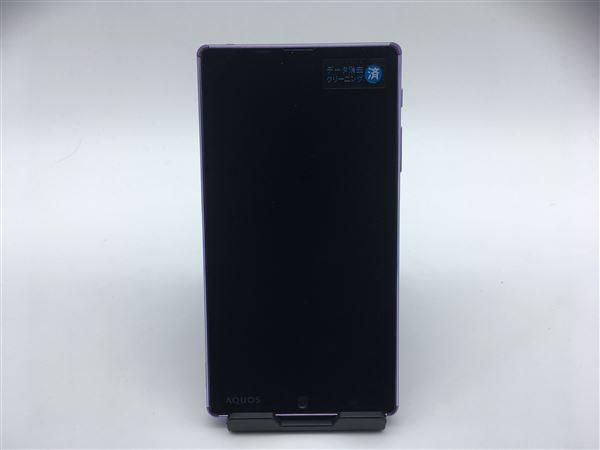 【中古】【安心保証】 SoftBank AQUOSXx2 502SH パープル