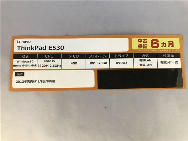 【中古】【安心保証】 Lenovo ノートPC 3259-B84