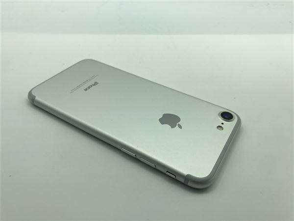 【中古】【安心保証】 SoftBank iPhone7[128G] シルバー SIMロック解除済