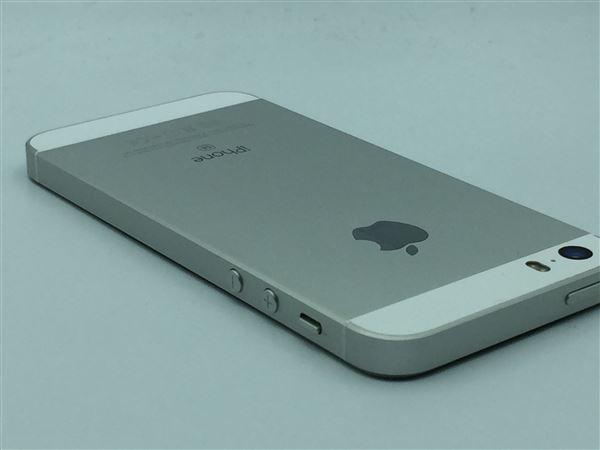 【中古】【安心保証】 SoftBank iPhoneSE[32G] シルバー