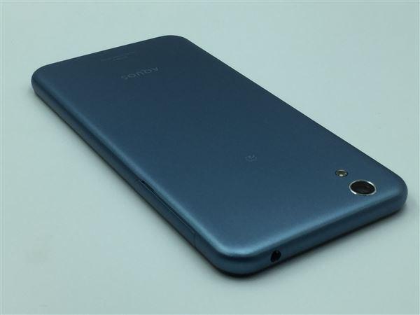 【中古】【安心保証】 SIMフリー SHーM04 ブルー