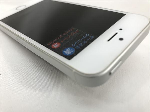 【中古】【安心保証】 docomo iPhoneSE[16G] シルバー